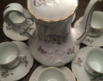 Pretty vintage coffee service