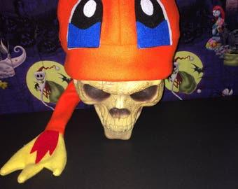 Charmander  Inspired pokemon Costume Hat