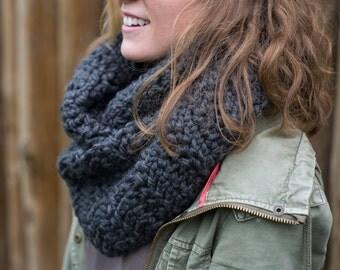 Cozy Herringbone Crochet Scarf