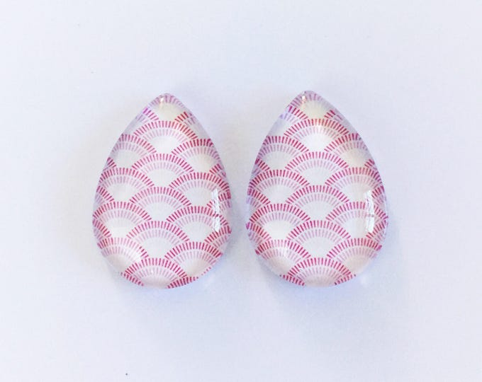 The 'Kimi' Statement Glass Earring Studs