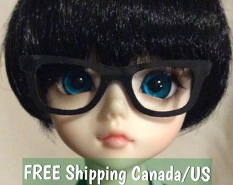BJD MSD Eye Glasses Frame with Movable Arms for Accessory or Prop *NERDI*