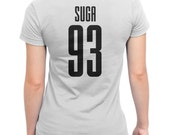 BTS Suga 93 Ladies T-SHIRT
