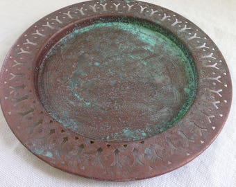 Arrow Patina Plate