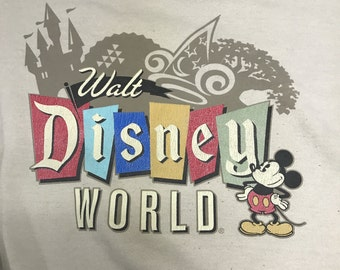Walt Disney World Mickey Mouse Sweat Shirt
