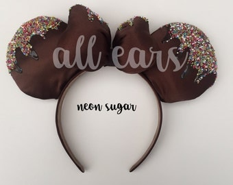 Mikey Mouse Ears Neon Sprinkles