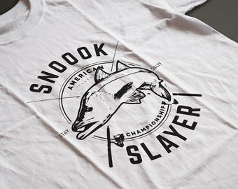 Snook, Snook Fishing Shirt, Snook Fishing Design, Snook Fishing Art