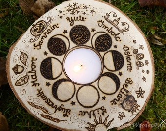 Wheel of the year ~ moon phases ~.