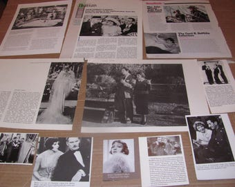 CLAUDETTE COLBERT   #7  CLIPPINGS  #0308