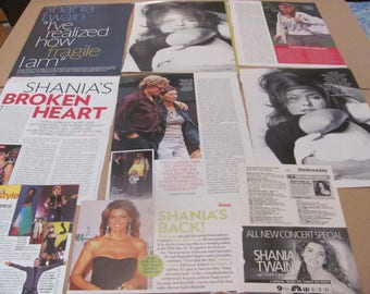 SHANIA TWAIN  #4  CLIPPINGS  #0511