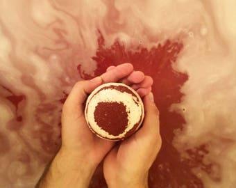 Large Bacon Bath Bomb | Bacon Scented Bath Bomb