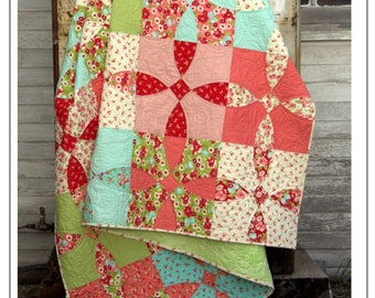 Cotton Fields Quilt Pattern