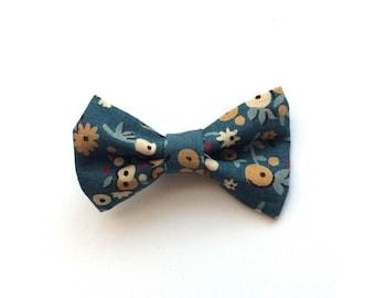 Blue Vintage Mini Bow