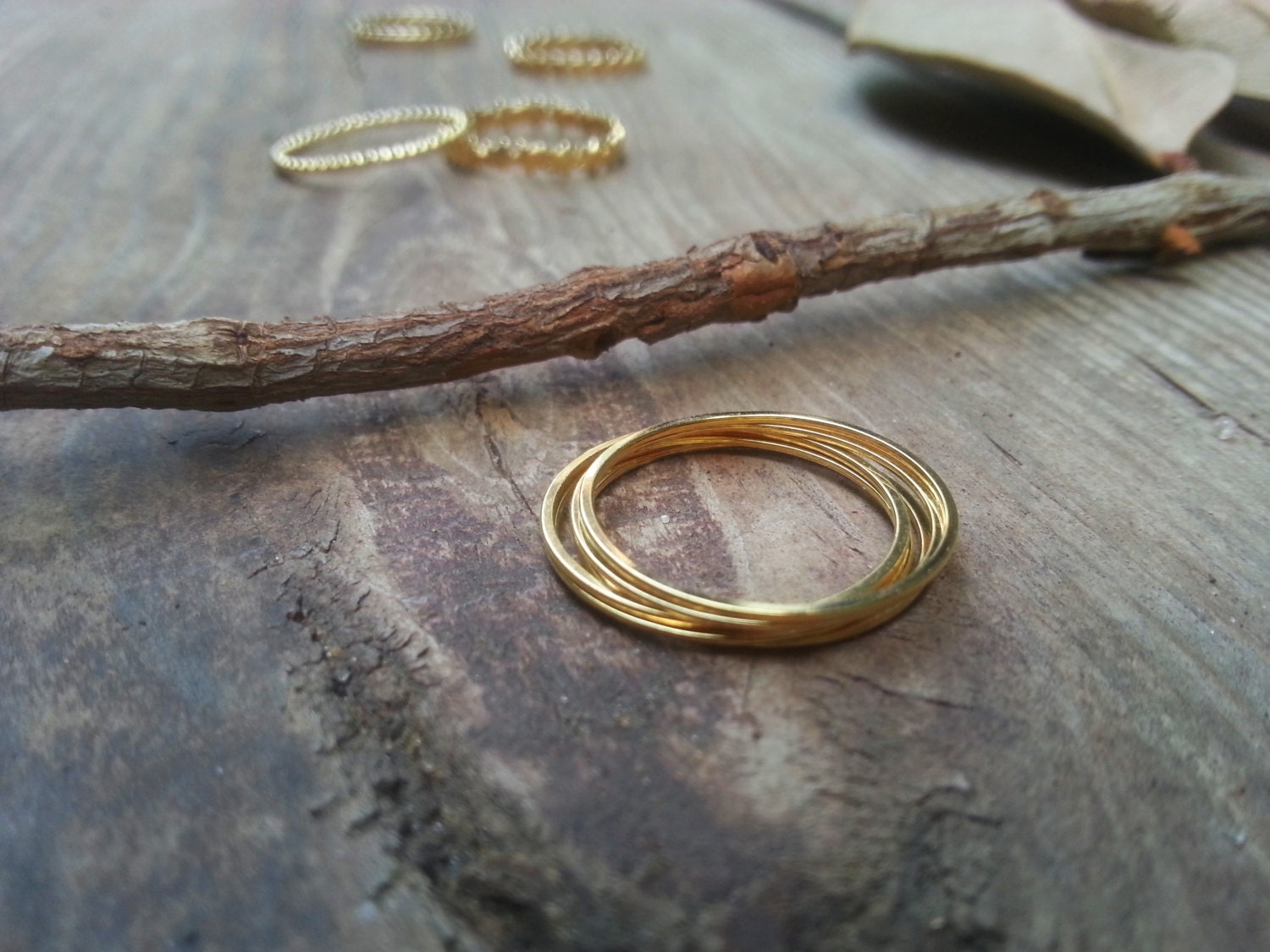 thin stackable rings gold stacking rings stack rings. Black Bedroom Furniture Sets. Home Design Ideas