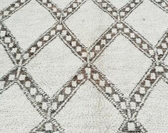 Berber carpet BENI OUARIN top Moroccan Atlas