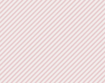 NEW Les Petits by Amy sinibaldi for Art Gallery Fabrics-Pink Striped Fabric-Basic Fabric