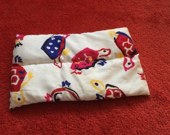 Small child/toddler weighted lap pad 0.5kg, colourful turtles . Autism ADHD sensory, for concentration or anxiety