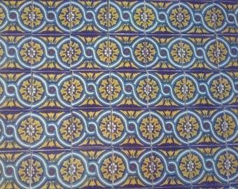 MEXICAN TALAVERA TILES X 50( 5cm x 5cm each )