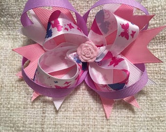 Princess stacked bow.