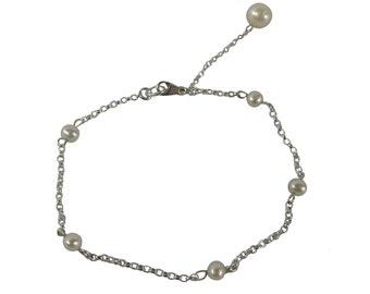 Drop Pearl Bracelet