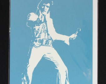 Elvis Presley Greeting Card