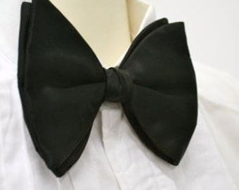 Oversized Vintage Pre-Tied Classic, Luxurious, Wedding Bow Tie