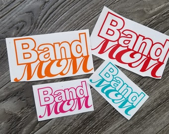 Band Mom Vinyl Decal