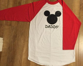 Mickey Mouse Raglan.