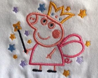 Peppa Pig, White Peppa Pig dress, Girls dress, Girls Peppa Pig dress, Peppa Pig Birthday Dress