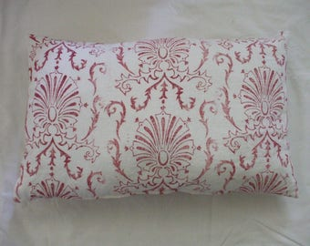 Hand printed cushion cover
