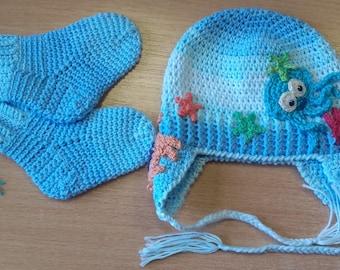 Crochet Baby Marine Hat Pattern : Crochet marine hat Etsy