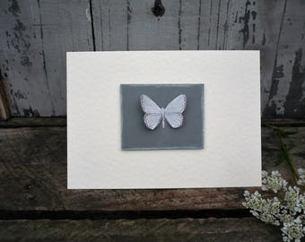 Butterfly greetings card-birthdaycard-thank you card-x1