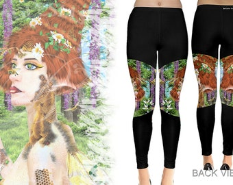 Beewildered - Leggings - Fantasy