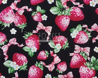 Cosmo 100%cotton stawberry