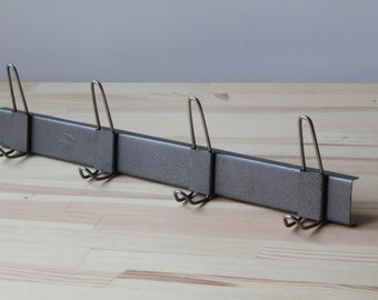 USSR Metal Coat Rack Hanger, Entryway, Hallway Coat Hanger, Metal Coat Rack, Industrial rack, Coat Rack , retro hooks, loft coat rack