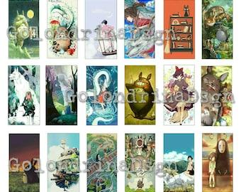 Collage Ghibli fan art