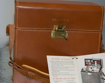 Vintage Polaroid Deluxe Compartment Case #309