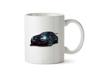 Ralley Sports Car Mug