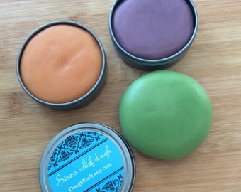 3 pack aromatherapy dough, non-traditional stress ball, calm down kit, anxiety relief, fidget, stim toy, stress management