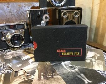 Vintage retro Kodak negative file negative holder negative organizer