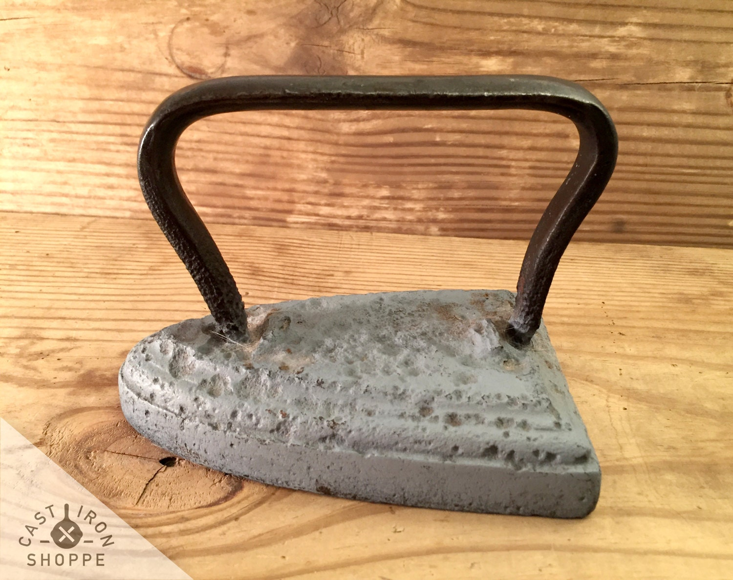vintage clothes press iron