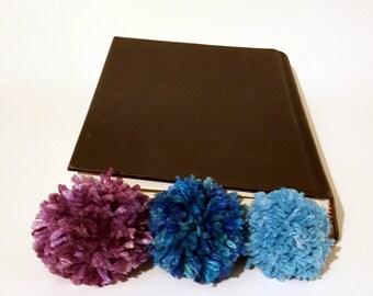 Pompom Yarn Bookmark