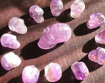 13 Crystal Skulls - Amethyst