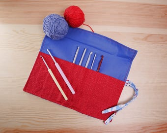 Ganchillero, cover needles Crochet, crochet needle case