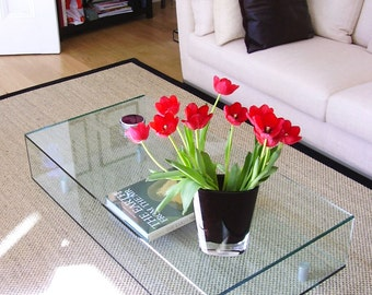 Classic Glass Coffee Table
