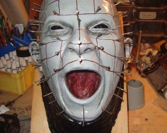 hellraiser head 1:1 wall mounted