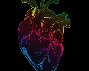 Anatomical heart design