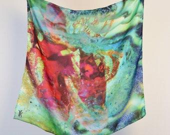 Mermaid Silk Scarf