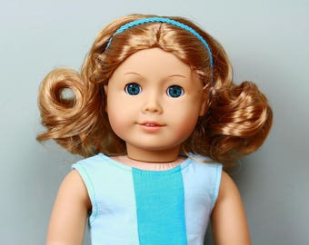 Stunning OOAK American Girl Truly Me #21 with Marine Blue eyes