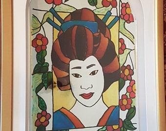 Geisha Mirror