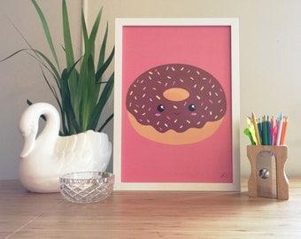Choccy Doughnut